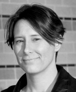 profile image in black-and-white