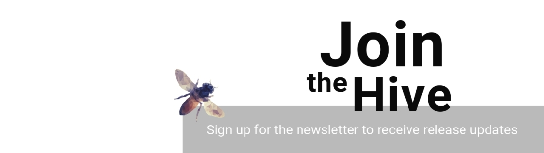 """Join the HIve"" newsletter banner"