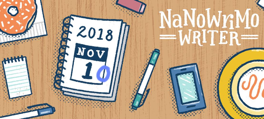 NaNoWriMo: Chilling on theClimb
